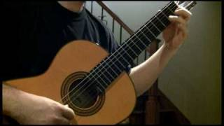 Bach - Minuet in G major (Classical guitar)
