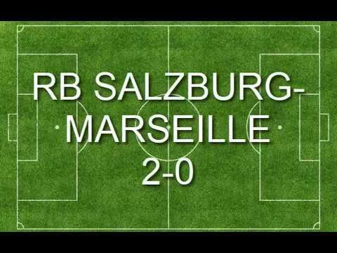 Salzburg vs Marseille - FantaLive Highlights & All Goals - 03/05/2018