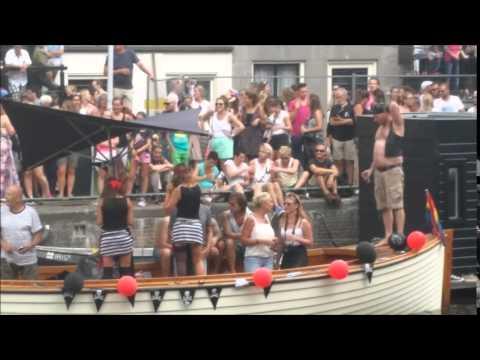 Canal Parade Amsterdam gay pride 2014