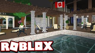 SIMPLE SUMMER PATIO!!! | Bloxburg Adventures! (Roblox Bloxburg)