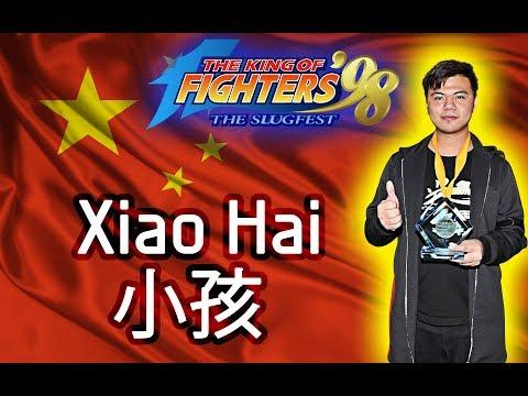KOF98 // WELL Global E-Sports League Online // Xiao Ming 小明 vs Xiao Hai 小孩 // FT 7 // 01/12/2017