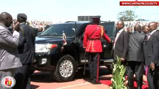 Uhuru ditches tradition, gets new armoured car