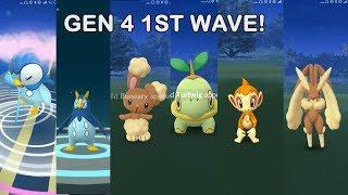 Another Gen 4 1st wave release in Pokemon Go!