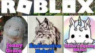 Playin' avec Jenny Grace et Unicorn Squishy Master (fr) Roblox (#2)