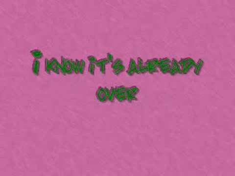 RED-Already Over [with lyrics]