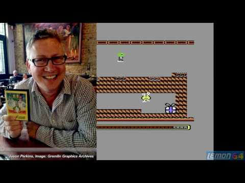 Thing on a Spring (C64) (Lemon Amiga copy) - A Playguide and Review - by Lemon64.com