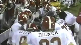 #2 Alabama Crimson Tide at #16 Mississippi State Bulldogs - 1992