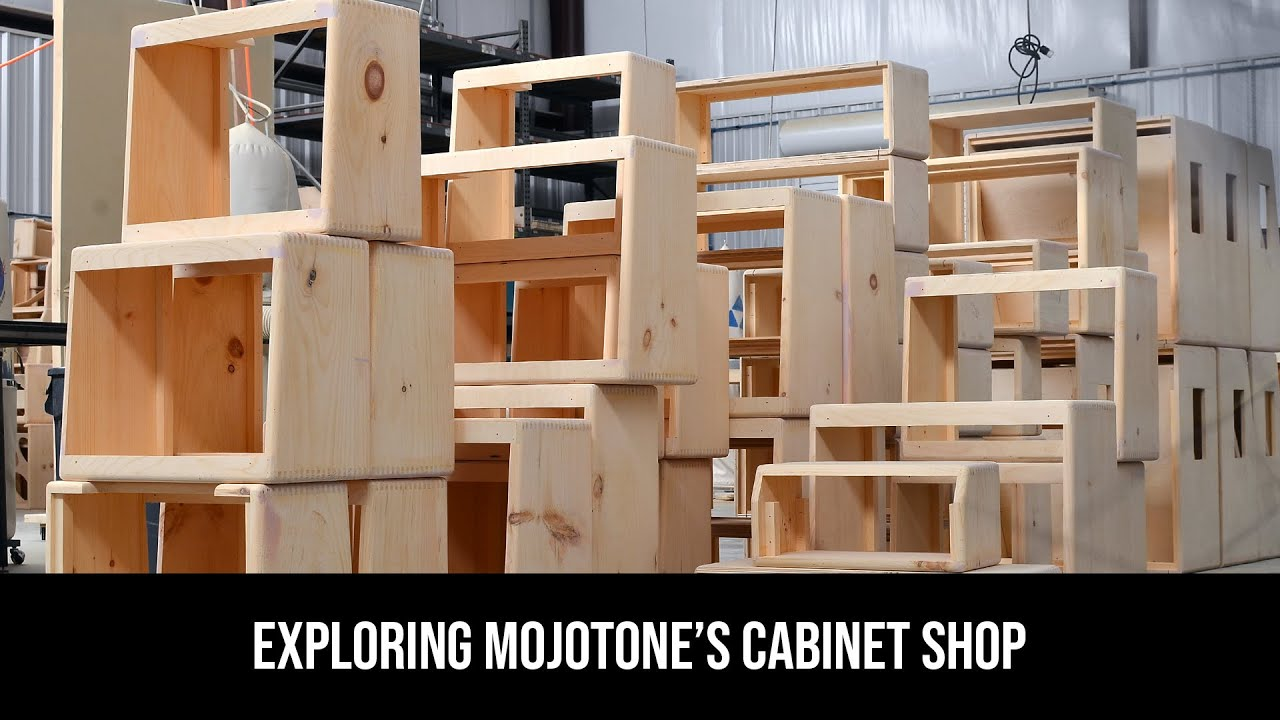 Mojotone Shop Talk- Exploring Mojotone's Cabinet Shop- Pt  1