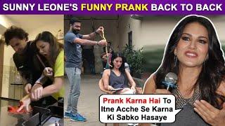 Sunny Leone's Damn Funny Prank Videos | #happybirthdaysunnyleone Trends
