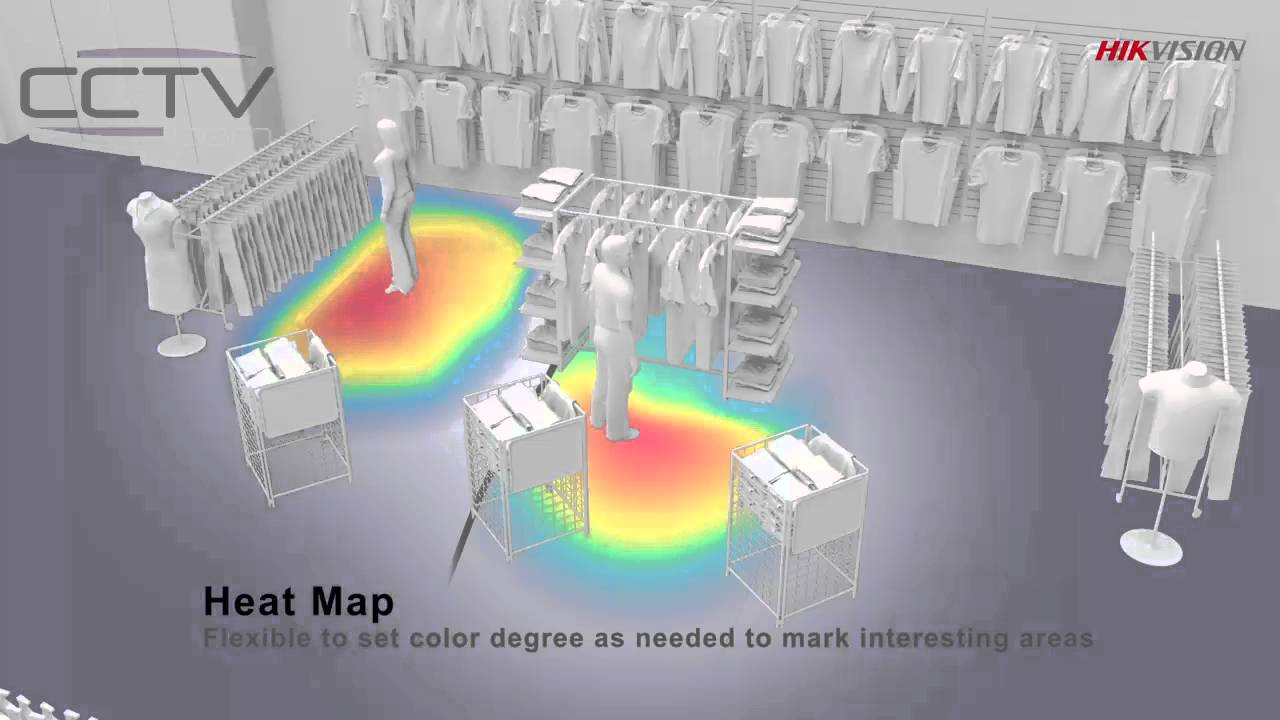 Hikvision Heat Mapping Feature Youtube