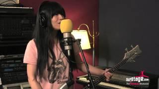 Shonen Knife perform at Moontower Recording Studio, Somerville MA. ...