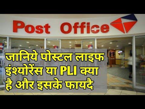 जानिये पोस्टल लाइफ इंश्योरेंस या PLI क्या है और इसके फायदै | Postal Life Insurance In Hindi