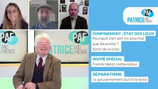 PAF – Patrice Carmouze and Friends – 23 novembre 2020