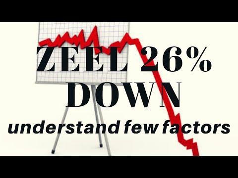 Zeel(Zee Entertainment Enterprises) 26% Down few factor explained!