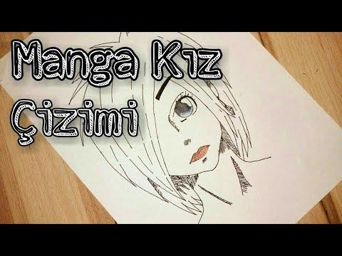 Manga Tarzı Kız Çizimi | Drawing Manga Girl