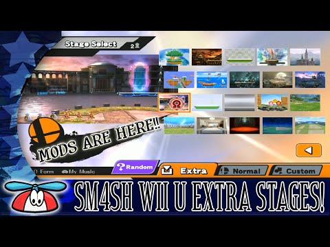 EXTRA STAGES - Smash Bros. for Wii U Hacks
