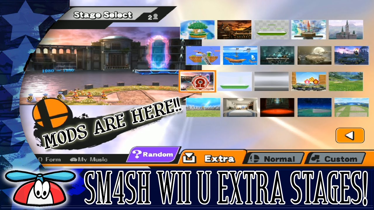 EXTRA STAGES - Smash Bros  for Wii U Hacks