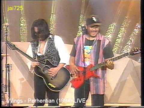 Wings - Perhentian (1994) LIVE