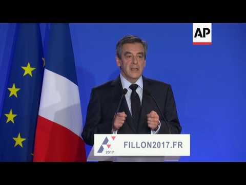 Fillon denies acting illegally in wife's pay