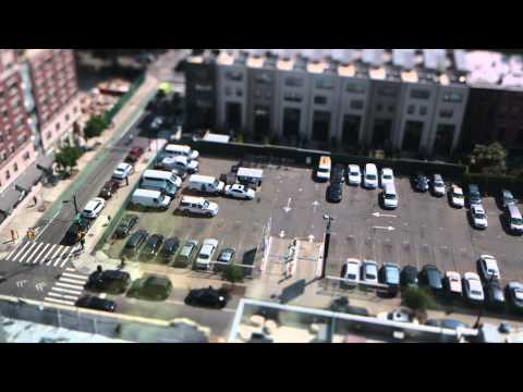Brooklyn Parking Lot Toy Timelapse