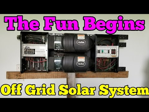 Ep: 2 Building My Epic Off Grid Solar Powered Home System