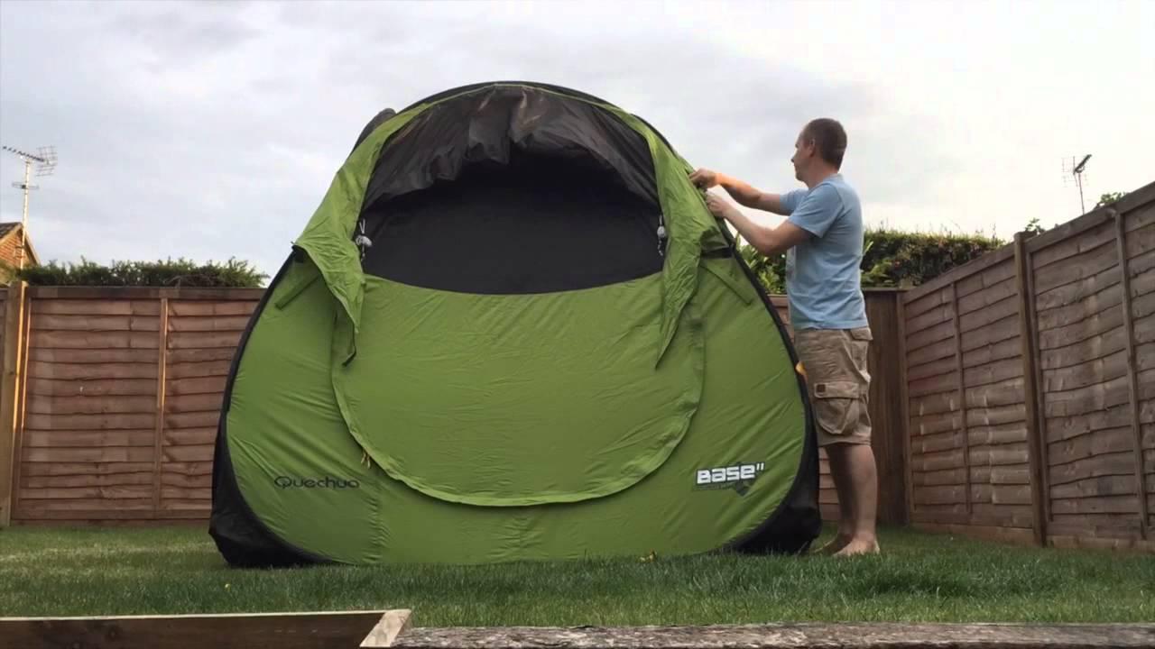 decathlon quechua base seconds time lapse youtube. Black Bedroom Furniture Sets. Home Design Ideas