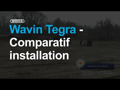 wavin tegra comparatif installation youtube