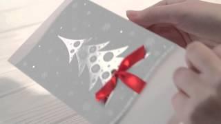 Открытки к Новому году 2093 2092 2107(Серия корпоративных бизнес открыток евро формата изготовлена из европейского картона, офсетная печать,..., 2014-11-06T11:46:08.000Z)
