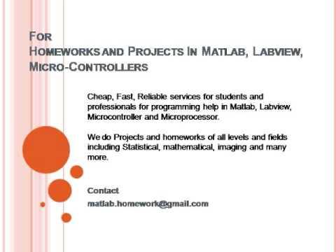 Labview homework help