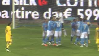 Napoli-Parma 2-0 18-12-2014 Gol di Zapata  Live in HD dalla Curva B