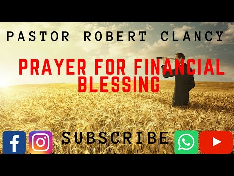 PRAYERS FOR FINANCIAL BLESSING - PST...