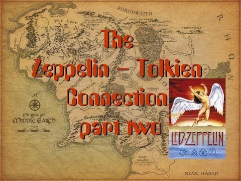 Led Zeppelin and Lord of The Rings - Rockers and Tolkien Fans