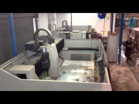 CNC Glass Polishing machine Video 1