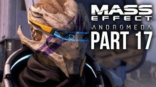 MASS EFFECT ANDROMEDA Walkthrough Part 17 - VETRA LOYALTY MISSION (Female) Full Game