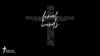 Final Words - Supported (14th Mar, 2021)