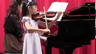 Fong Shir Ning (8 yrs) Vivaldi Concerto in A minor