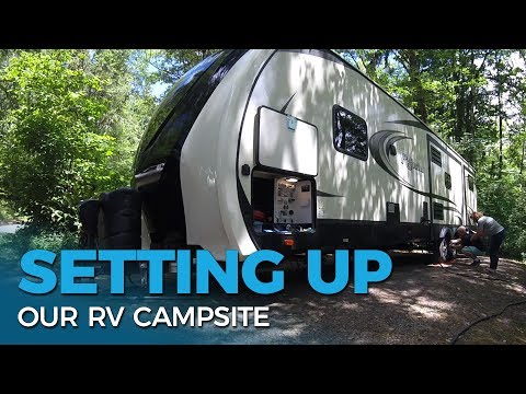 How To Set Up An RV Campsite | First Time RV Camping Help