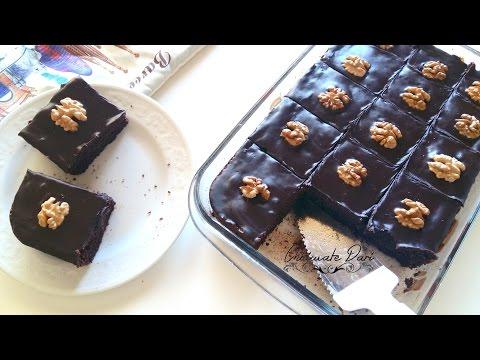 Basboussa au chocolat | بسبوسة بالشكلاط  والجوز مذاق خطيييييييير
