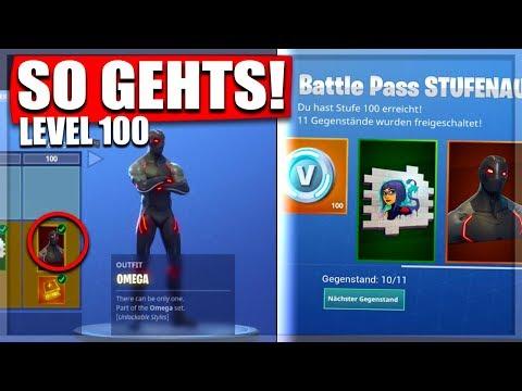 ❌TRICK LEVEL 100❌SCHNELL LEVEL100 Battle Pass Season4 || Fortnite Battle Royale Deutsch
