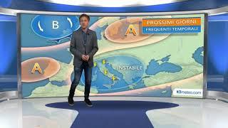 Meteo Italia tra sole e qualche temporale