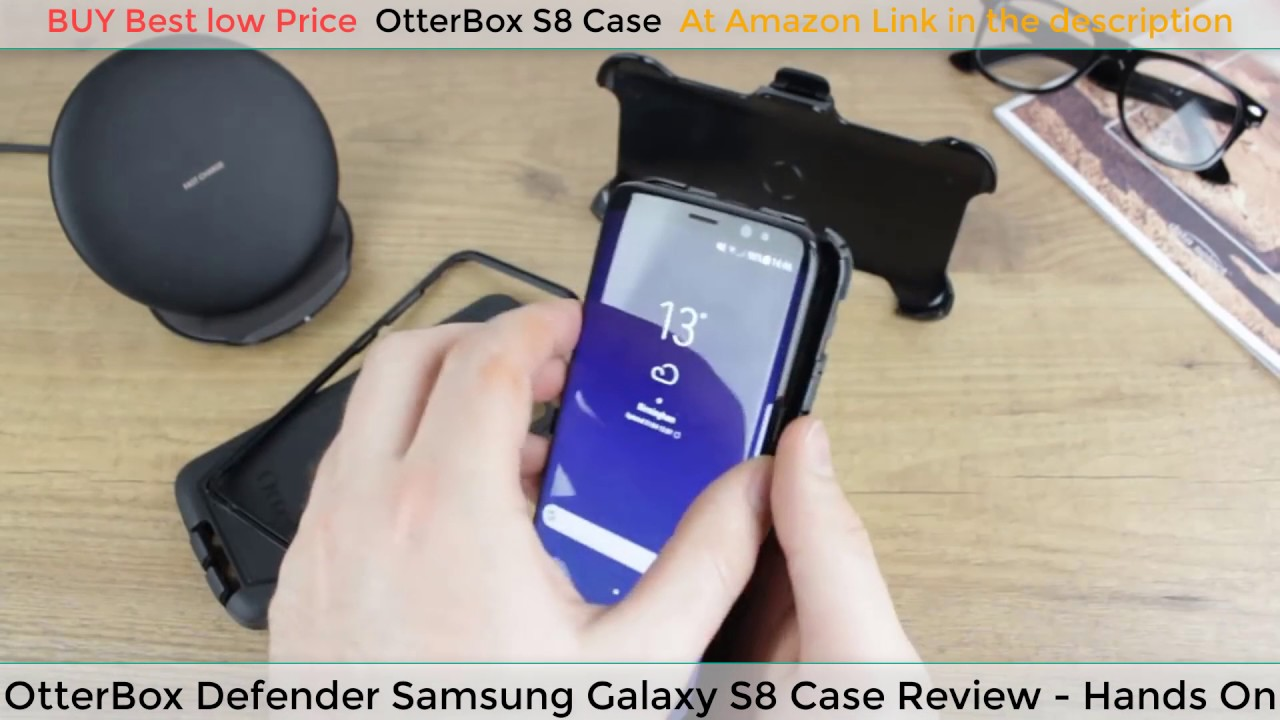 buy popular 76934 84470 OtterBox Defender Samsung Galaxy S8 Case Review - Hands On