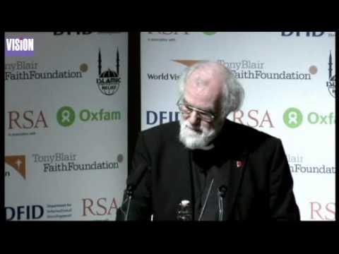 Dr Rowan Williams - New Perspectives on Faith and Development