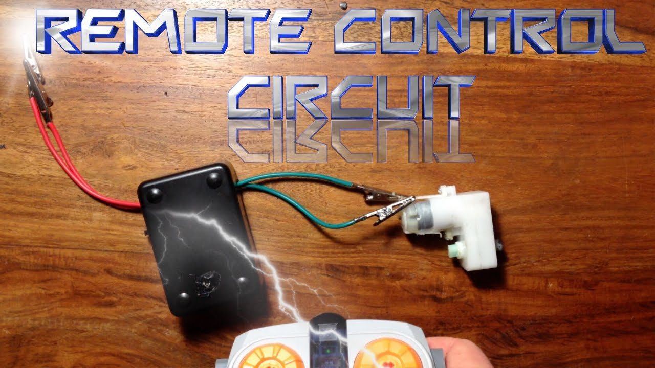 How To Make A Remote Control Circuit Youtube The Previous Makes It Work As An Infrared Transmitter We Can