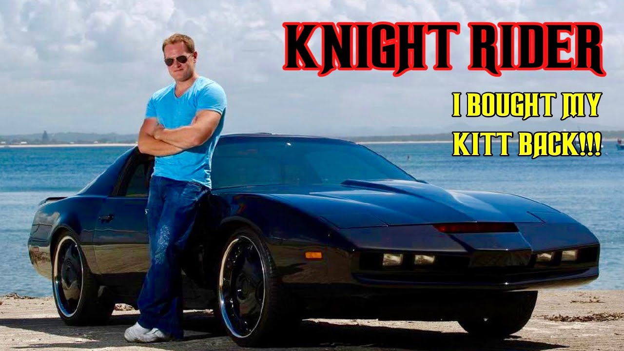 I bought my KITT back!!! Knight Rider 2020