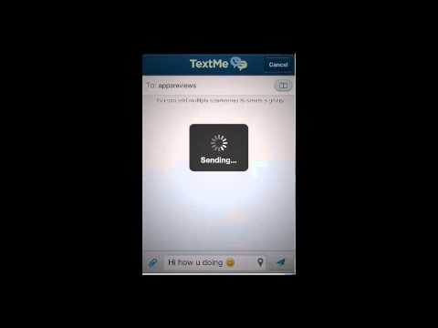 Text Me! App Review for iPhone