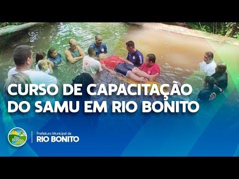 Curso de Capacitação da SAMU em Rio Bonito