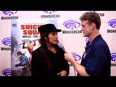 Dania Ramirez    Suicide Squad: Hell to Pay at WonderCon