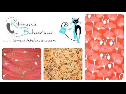 Little Red Dress Project :: Fabric & Nov Pattern Review 2016 :: Vlog #20