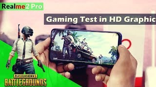 PUBG Game Play on RealMe 2 Pro | Gaming test on RealMe 2 Pro