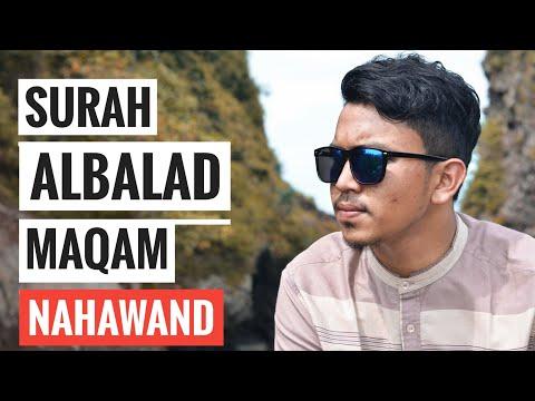 Bacaan Quran Merdu Irama Nahwand Surah Al Balad By Hafiz Almansuri